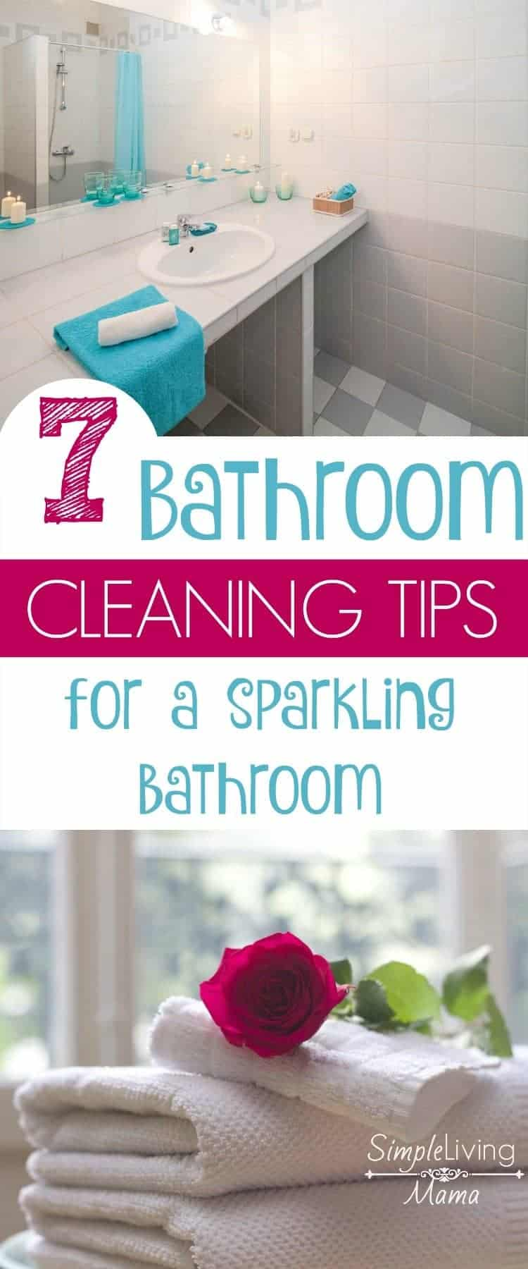 7 Bathroom Cleaning Tips for a Sparkling Bathroom