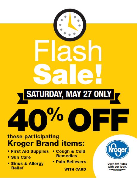 Kroger Delta Flash Sale