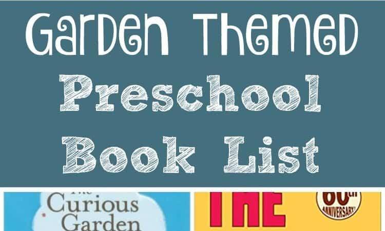 Garden Themed Preschool Book List