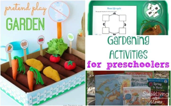 Gardening Activities for Preschoolers