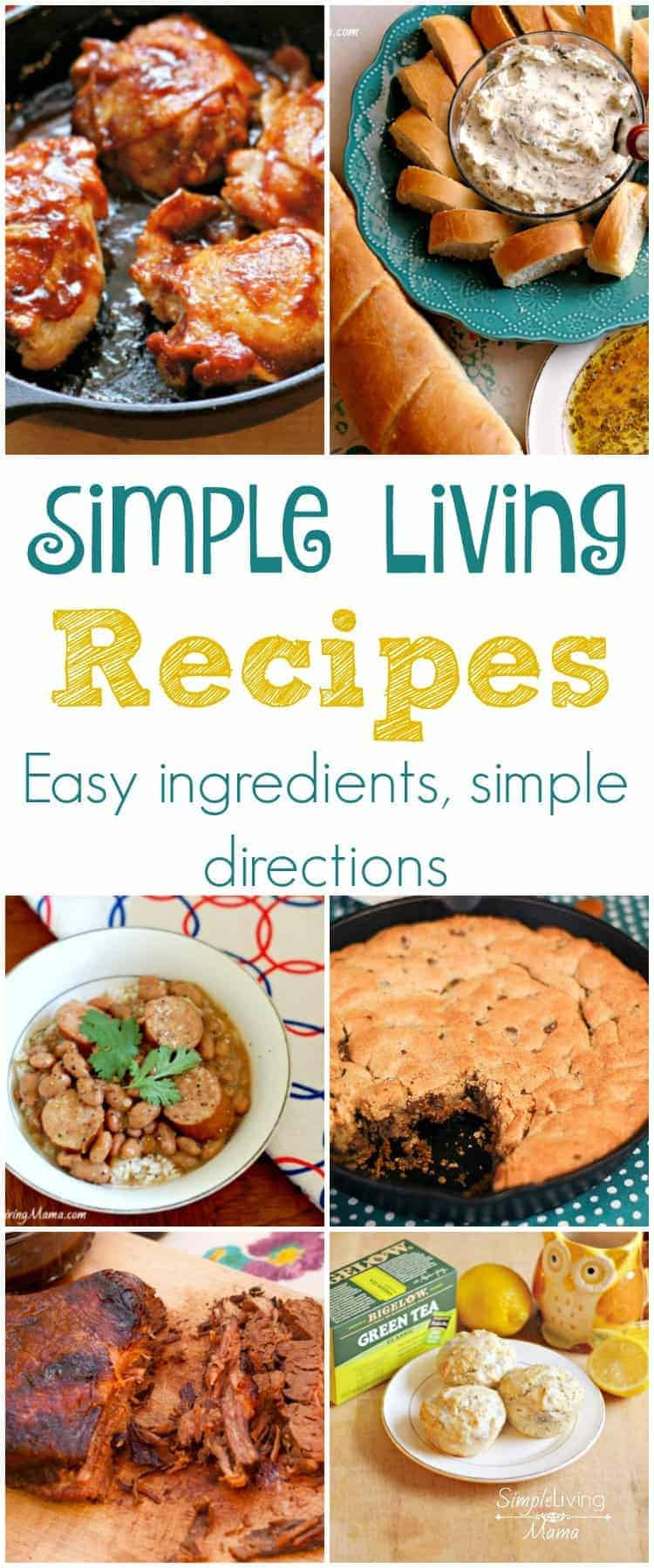 Simple Living Recipes