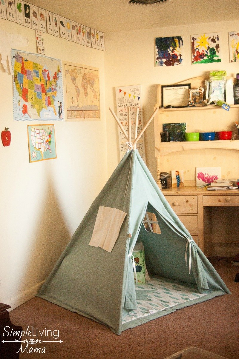 How To Create A Preschool Reading Corner At Home Simple