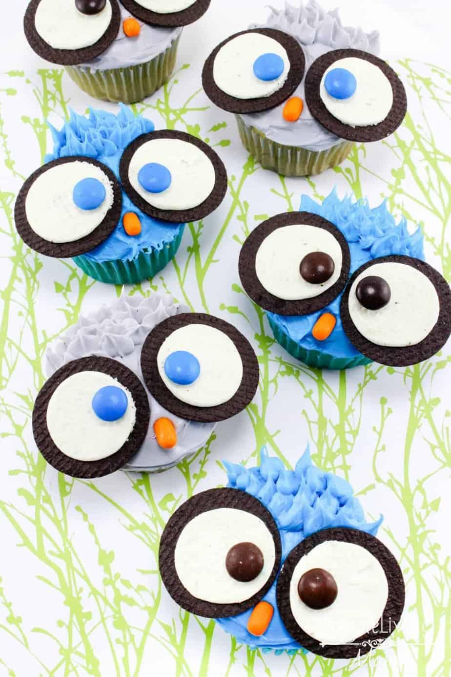 DIY Owl Cupcakes Simple Living Mama