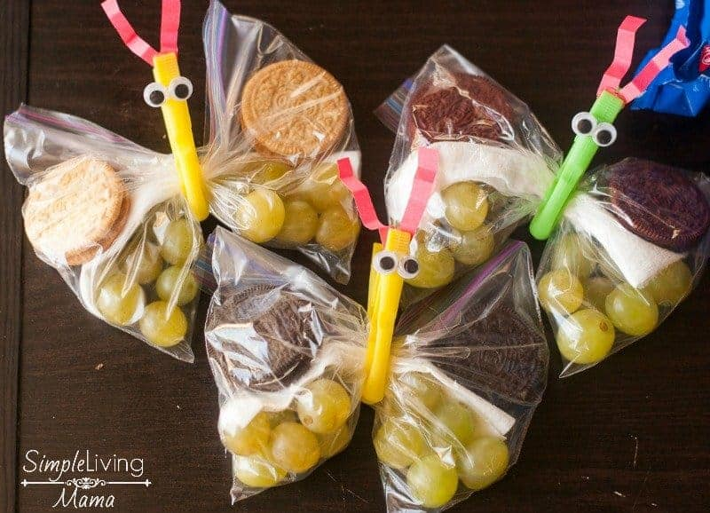 Cute butterfly snack bags to make snacking fun! #shop #enterthewondervault