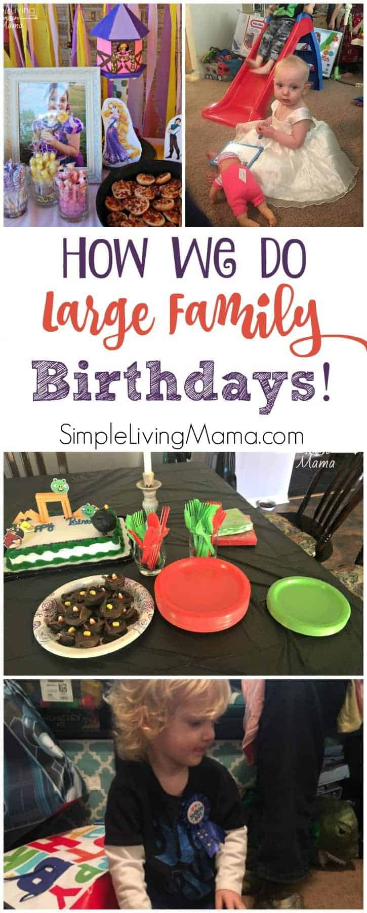 How we do large family birthdays