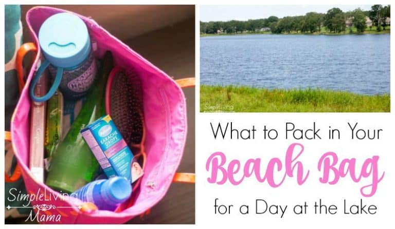 What To Pack in Your Beach Bag for a Day at the Lake