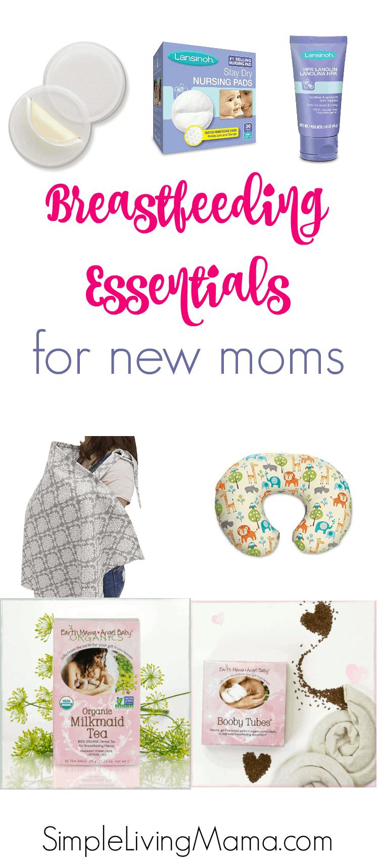 Breastfeeding Essentials for New Moms
