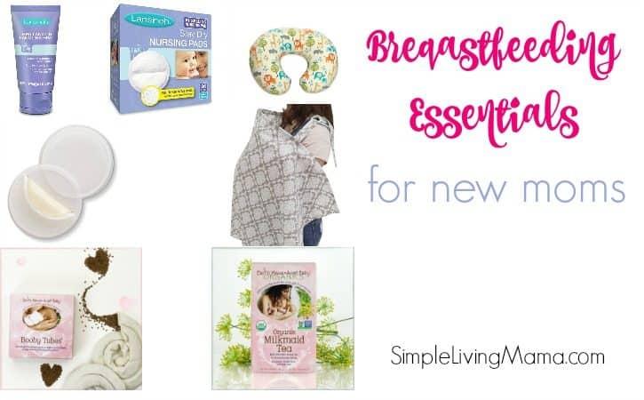 Breastfeeding Essentials for Mama