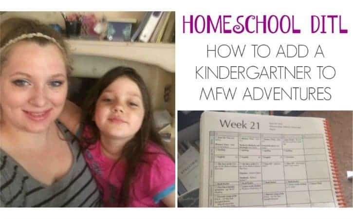 How To Add a Kindergartner to My Father's World Adventures