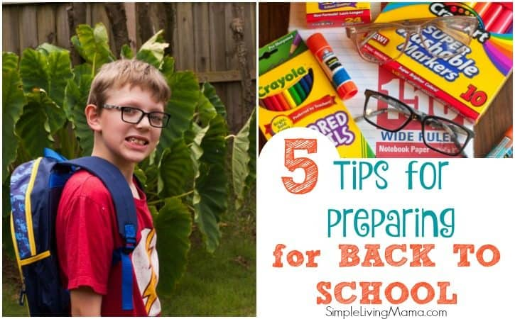 5 Tips for Preparing for a New School Year