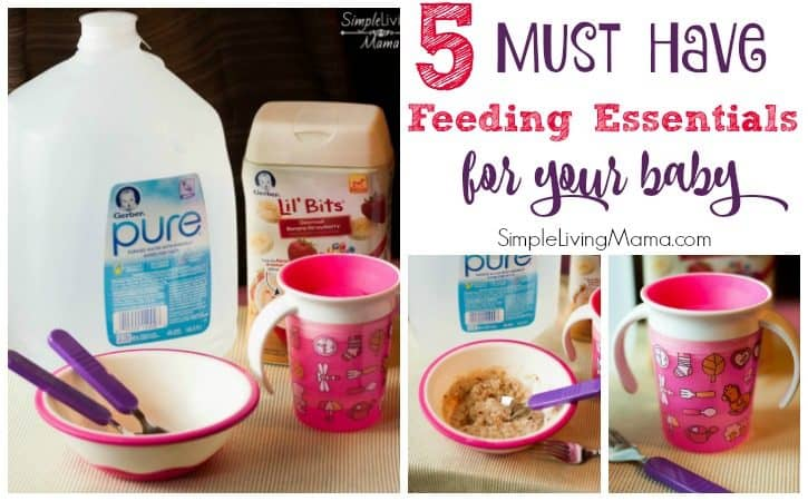 5 Must-Have Feeding Essentials for Baby