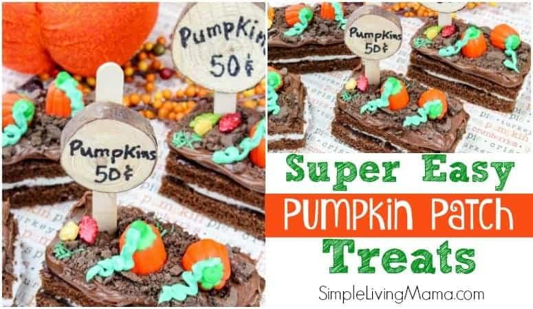 Super Easy Pumpkin Patch Treats