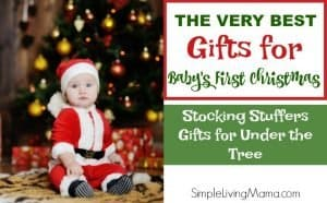 e44aa7aa557b Learn what to buy for your baby s first Christmas with this Christmas gift  guide.