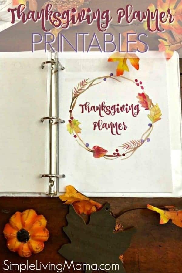 These Thanksgiving planner printables will help you this Thanksgiving! Includes a printableThanksgiving menu planner and much more!