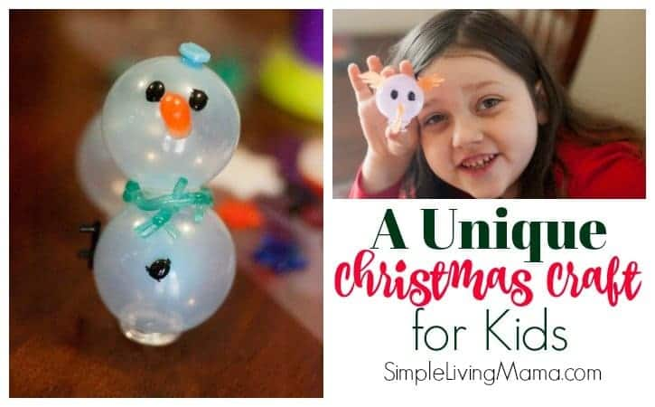 A Unique and Easy Christmas Craft for Kids – Oonies