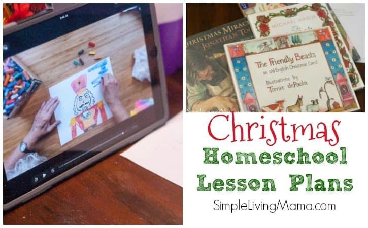 Christmas Homeschool Lesson Plans