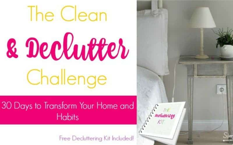 clean and decluuter sol