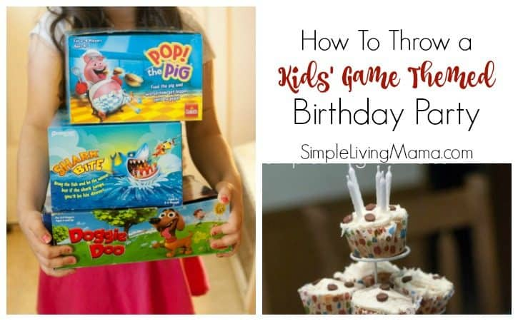 How To Throw a Kids' Game Themed Birthday Party