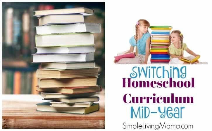 Changing Homeschool Curriculum Mid Year – Third Grade