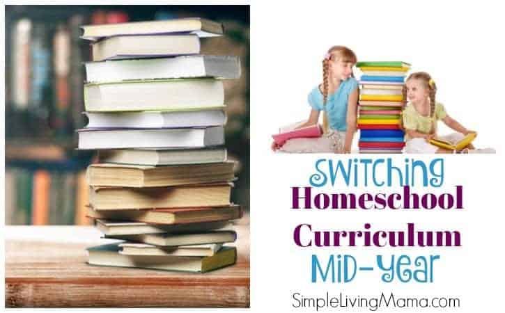Changing Homeschool Curriculum Mid Year – Third Grade