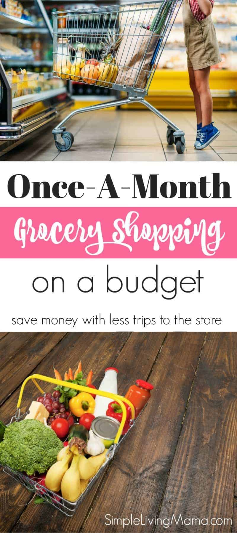 I know living 20 miles from the nearest grocery store doesn't necessarily require scaling back to once-a-month grocery trips but between the distance and our monthly budget strategy, it just evolved into what it is! First and foremost, I shop at Aldi. If you're not familiar, it's a grocery store .