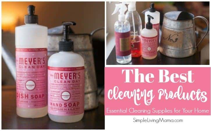 These are the best cleaning products for 2018. Clean your home with products that smell good!