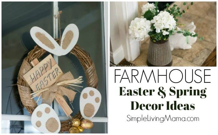 Easter and Spring Home Decor Tour