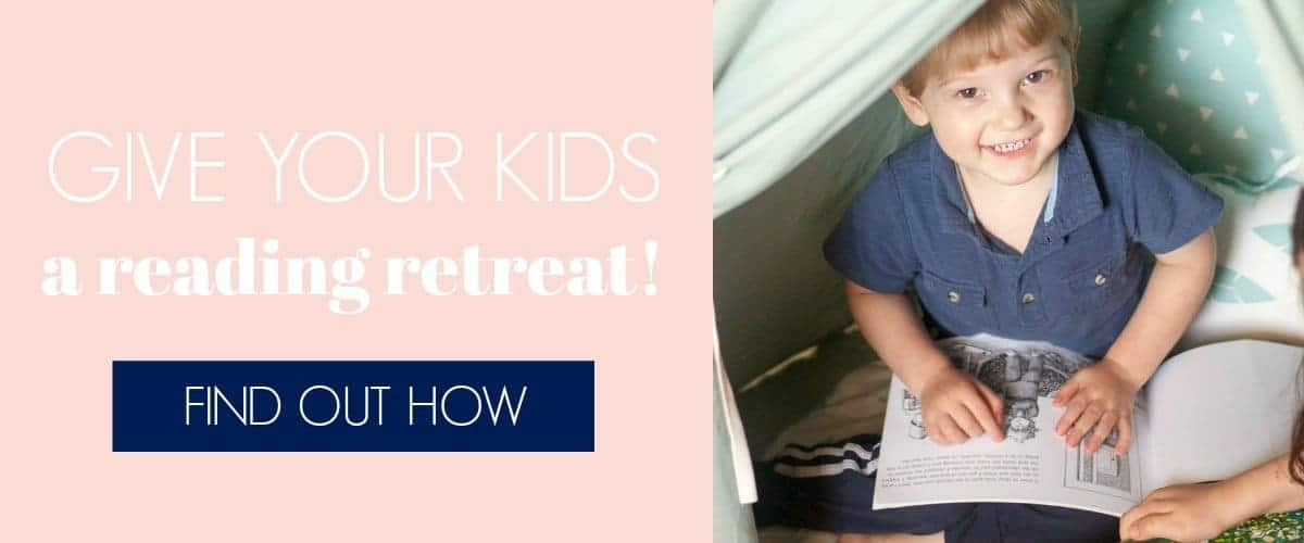GIVE YOUR KIDS A READING RETREAT