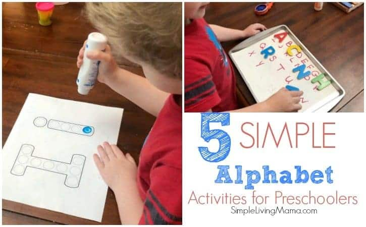 5 Simple Alphabet Activities