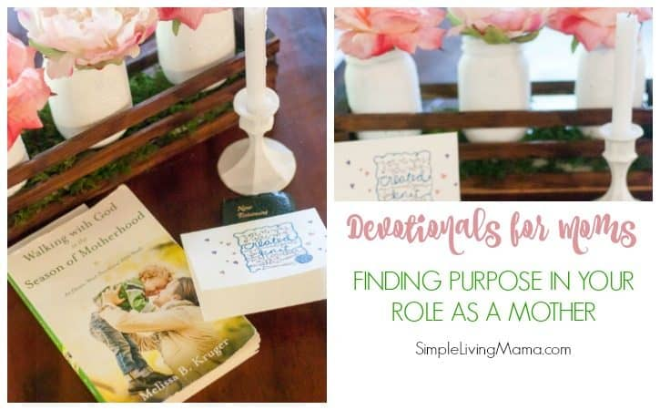 Devotionals for Moms – Finding Purpose In Your Role as a Mother