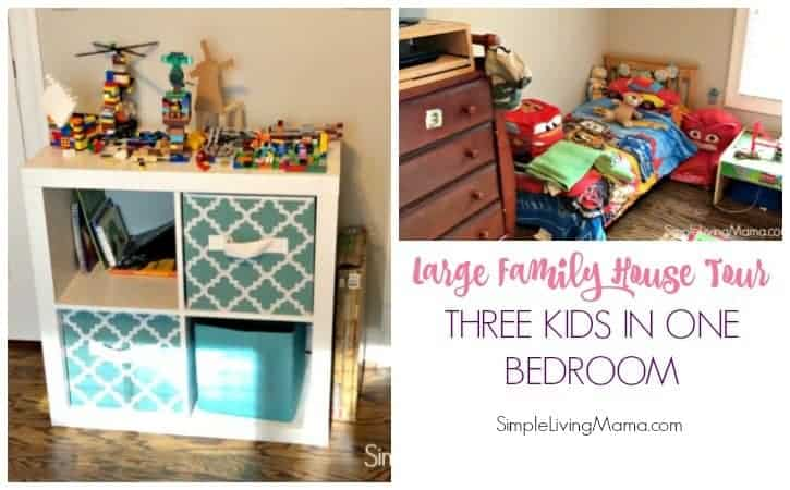 How To Fit Three Kids In One Bedroom – Large Family House Tour
