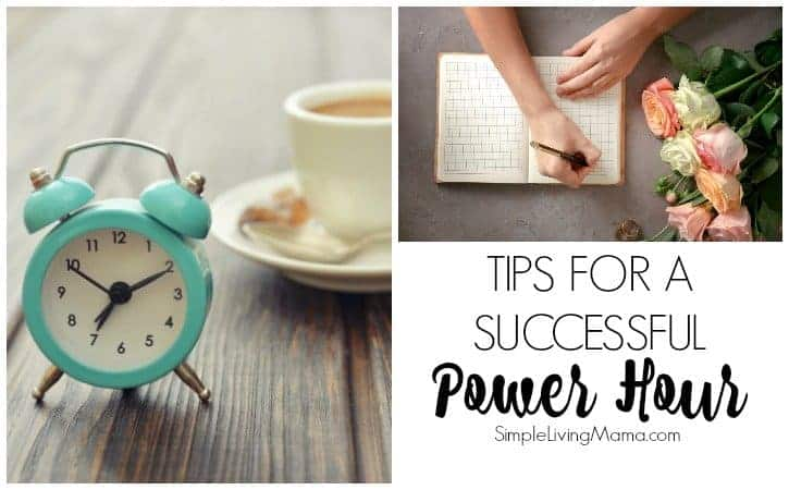 Learn how to have a successful power hour.