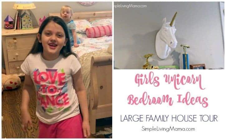 Girls' Unicorn Room Decor Ideas – Large Family House Tour