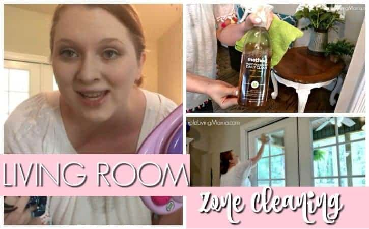 how to deep clean your living room