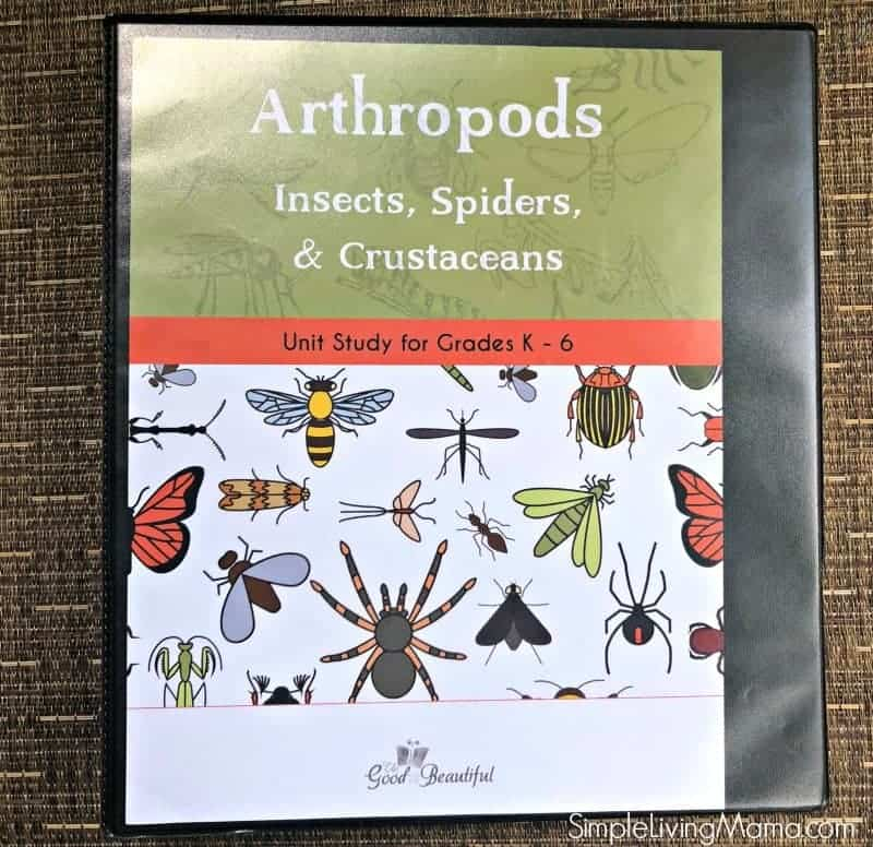 The good and the beautiful science unit study arthropods