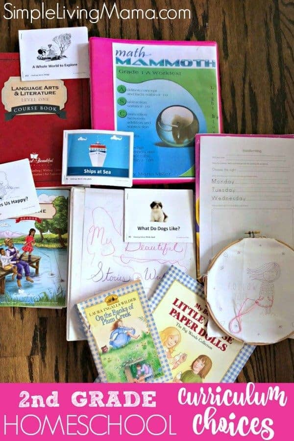 Elementary Homeschool Curriculum Choices Simple Living Mama