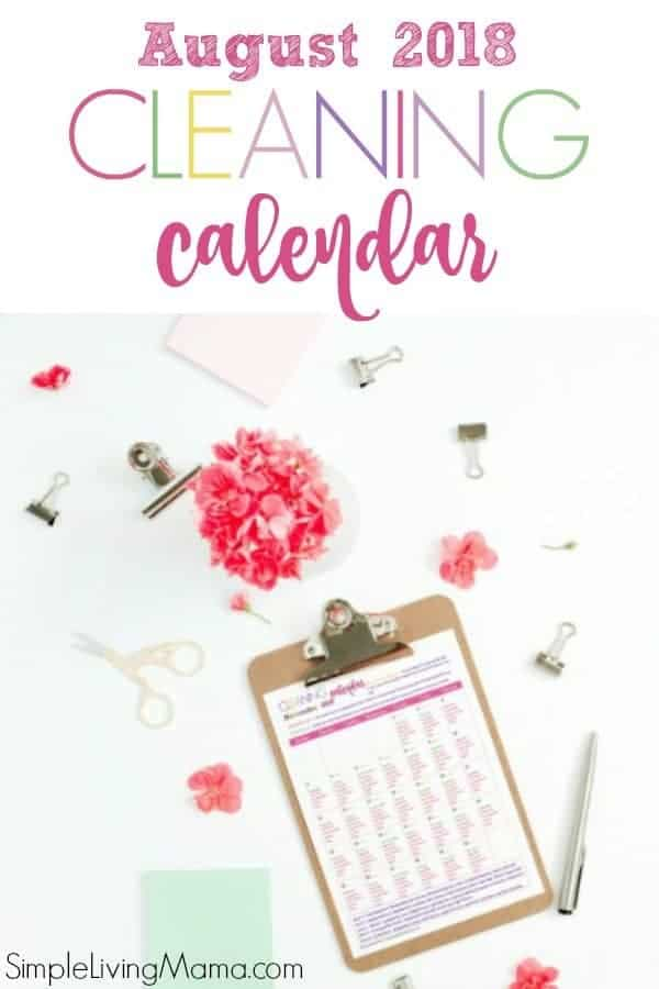 Grab this FREE printable cleaning schedule for the entire month to kickstart your cleaning routine. This monthly cleaning checklist includes daily, weekly, and zone cleaning routines.
