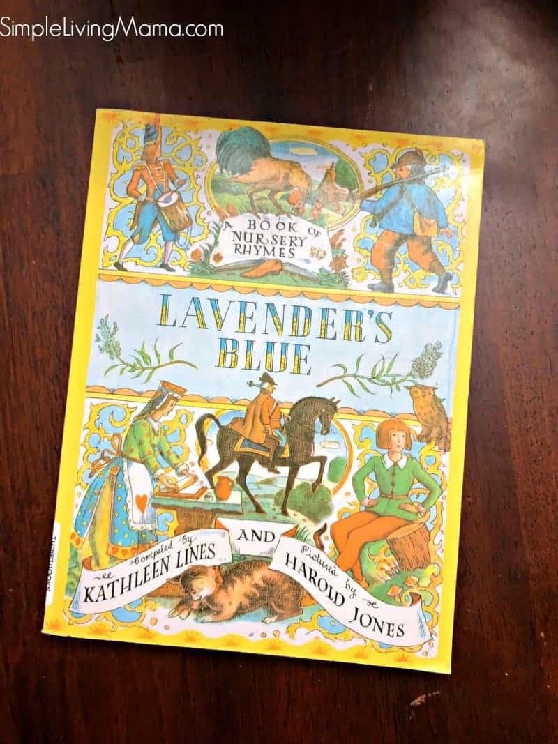 Lavender's Blue nursery rhymes