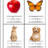 ABC handwriting cards