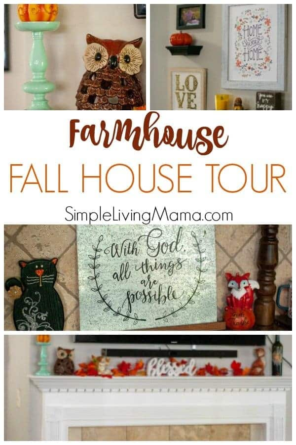 Check out our large family farmhouse fall tour.
