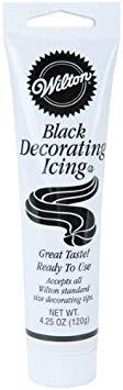 Decorating Icing 4.25oz-Black