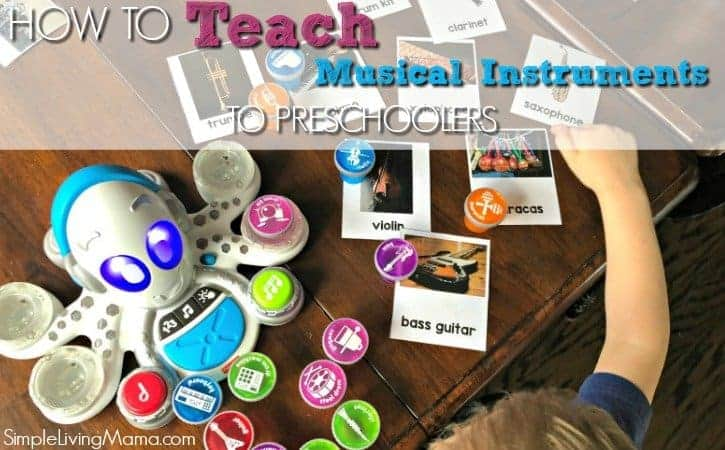 How To Teach Preschoolers Musical Instruments – Musical Instruments 3 Part Cards