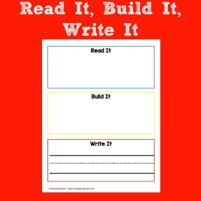 Reading, Writing and Copy Work for Kids
