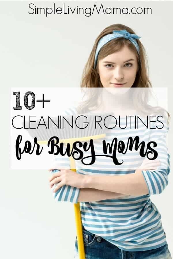 Are you struggling with your cleaning routine? Get 10+ housekeeping routines to keep your home clean and organized!
