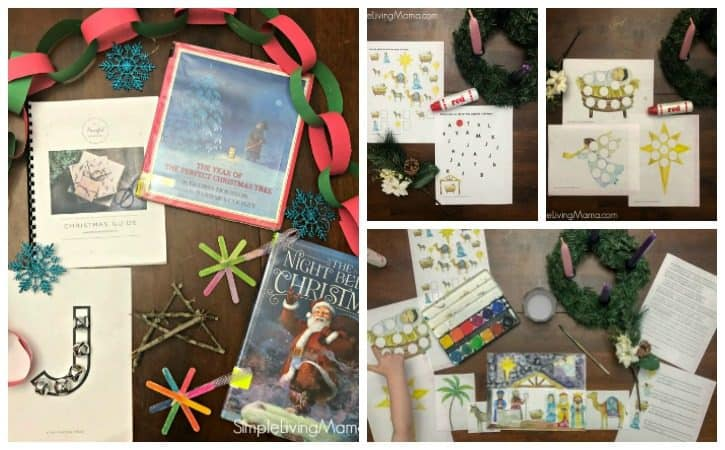 Christmas Preschool Lesson Plans (Nativity Printable Pack)