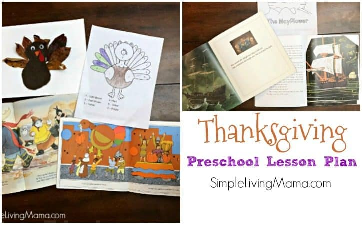 Thanksgiving Theme Preschool Lesson Plans