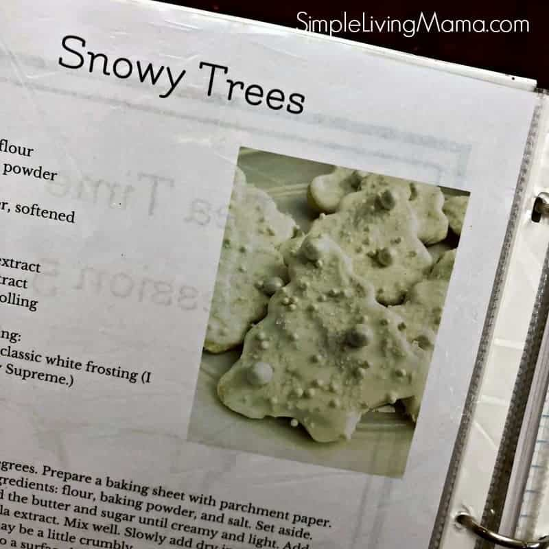 Snowy Trees poetry tea time morning time activity.