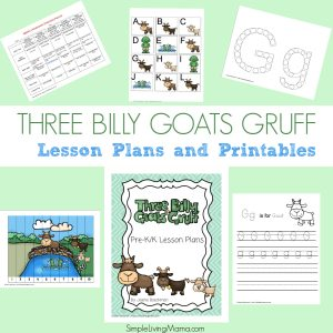 The Three Billy Goats Gruff lesson plans