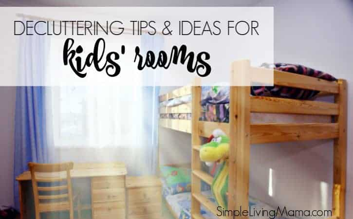 Decluttering Ideas and Tips for Kids' Rooms