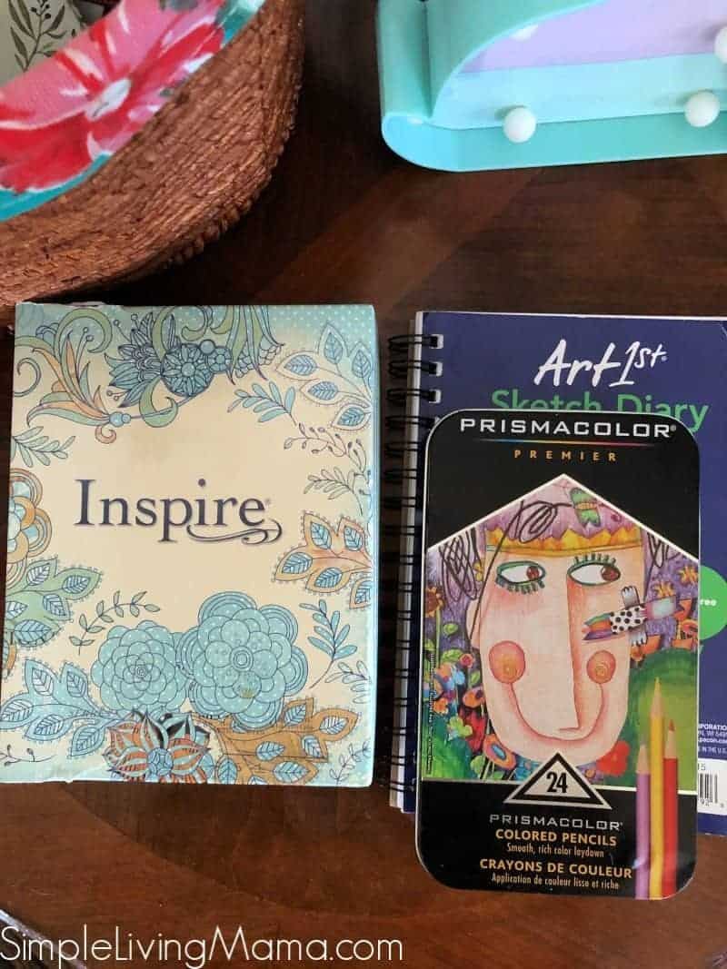 Inspire Bible and nature journal